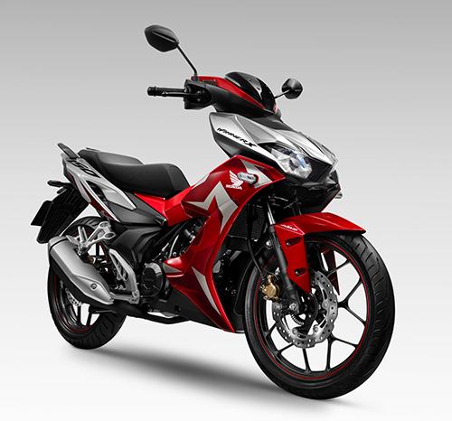 Thiết kế Winner X mang cảm hứng từ dòng xe sportbike phân khối lớn của Honda.