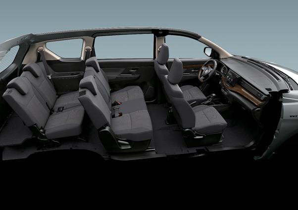 Động cơ của Ertiga Limited không thay đổi, loại 1,5 lít công suất 103 mã lực và mô-men xoắn cực đại 138 Nm.