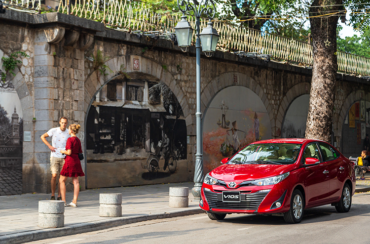 Toyota Vios phù hợp nhiều đối tượng khách hàng.