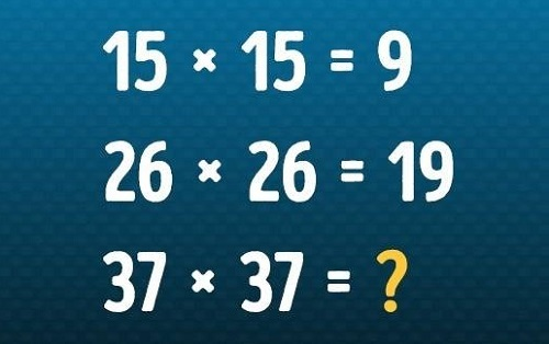 Câu đố thử tài tư duy toán học - 4