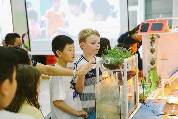 Chương trình trở thành công dân toàn cầu tại trường AISVN - ảnh 1