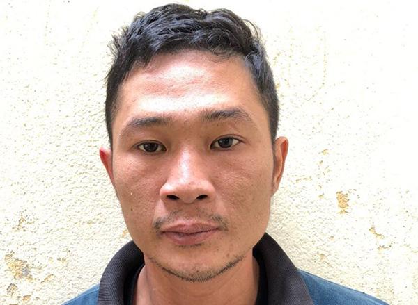 Nghi can Phạm Bá Hiếu đang bị tạm giam. Ảnh: Lam Sơn.