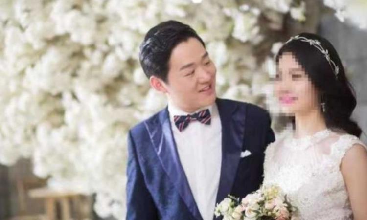Bác sĩ Peng Yinhua và vợ sắp cưới. Ảnh: Peoples Daily.