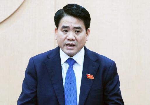 Chủ tịch thành phố Hà Nội Nguyễn Đức Chung. Ảnh: Võ Hải.
