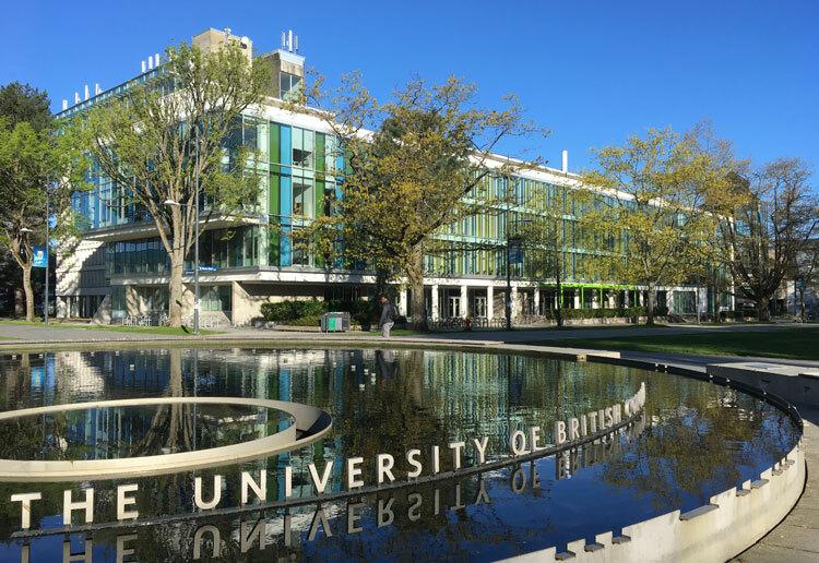 Một góc University of British Columbia, trường đứng thứ ba trong top 10 đại học tốt nhất Canada năm 2020. Ảnh: Anh Thi