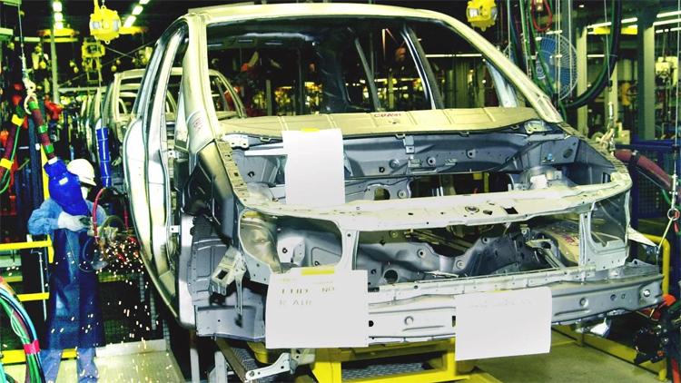 GM mở nhà máy lắp ráp ở tỉnh Rayong, Thái Lan, năm 2000. Việc rút khỏi quốc gia này sẽ khiến Trung Quốc và Hàn Quốc trở thành hai cơ sở còn lại của GM tại châu Á. Ảnh: AP
