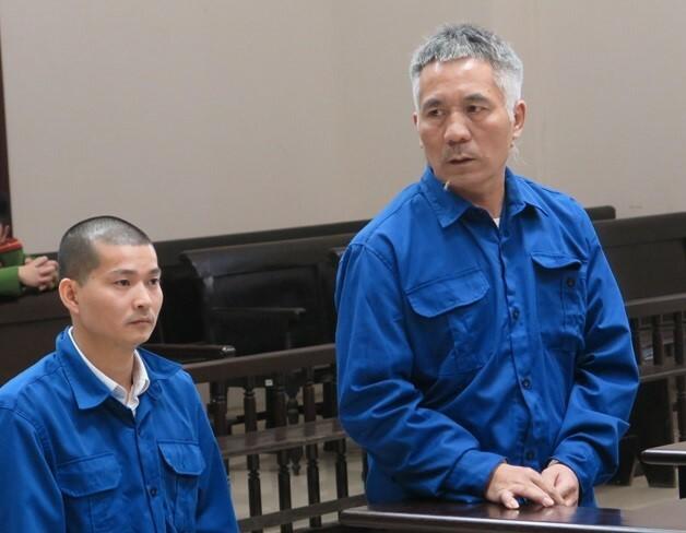 Cai Guolin và Cai GuoFang tại phiên tòa phúc thẩm. Ảnh: Nguyễn Anh.