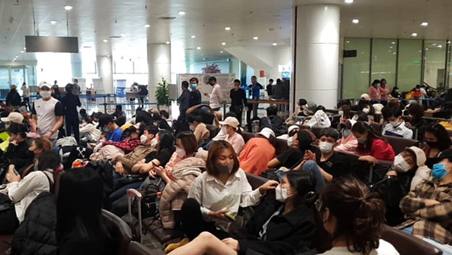Kiểm dịch 2.000 người từ Hàn Quốc - ảnh 1