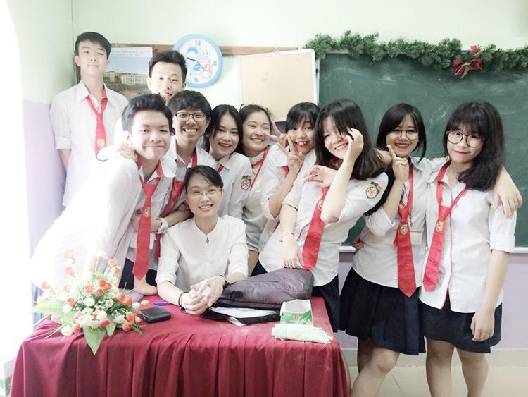 Với lớp cô Bình, học sinh luôn hiện diện trong các buổi họp phụ huynh. Ảnh: Nhân vật cung cấp.