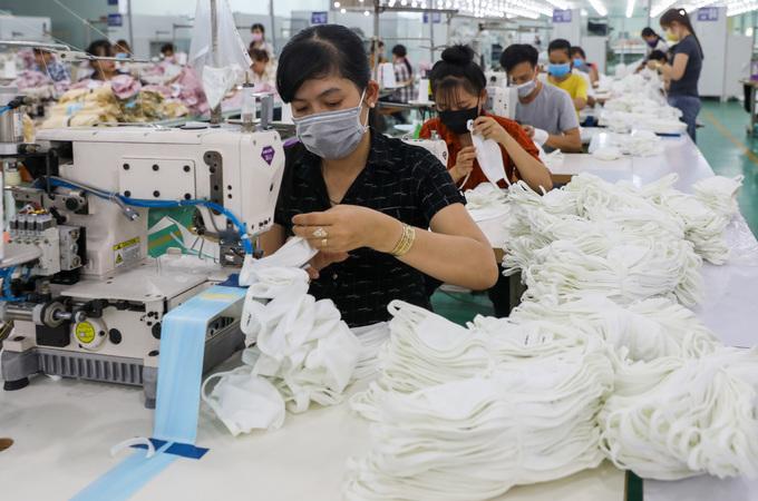 Sản xuất khẩu trang vải kháng khuẩn