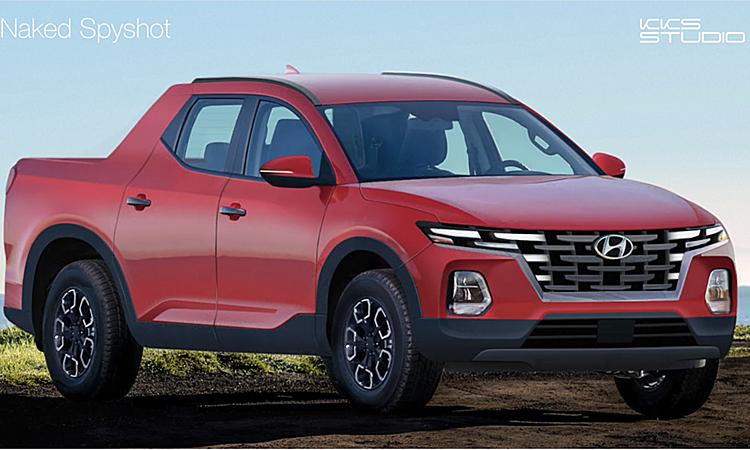 Thiết kế bán tải Hyundai theo hình dung của KSS Studio.