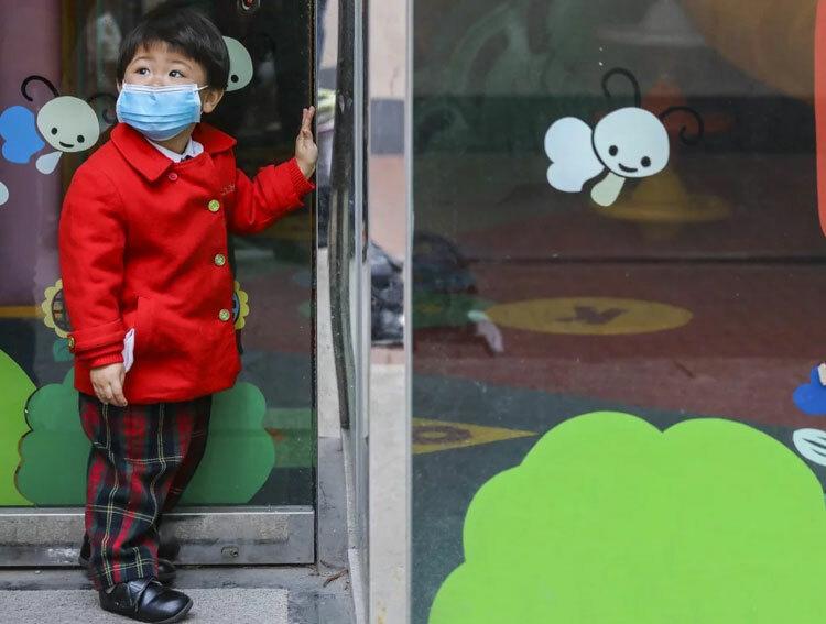 Trường học Hong Kong đóng cửa từ cuối tháng 1 vì dịch Covid-19. Ảnh: K. Y. Cheng.