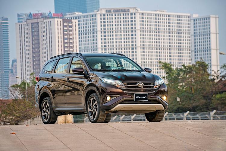 Toyota Rush - lua chon phu hop cho nguoi mua xe lan dau