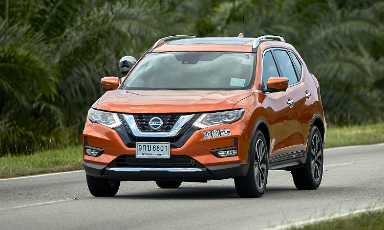 Nissan X-Trail phien ban moi chao Dong Nam A
