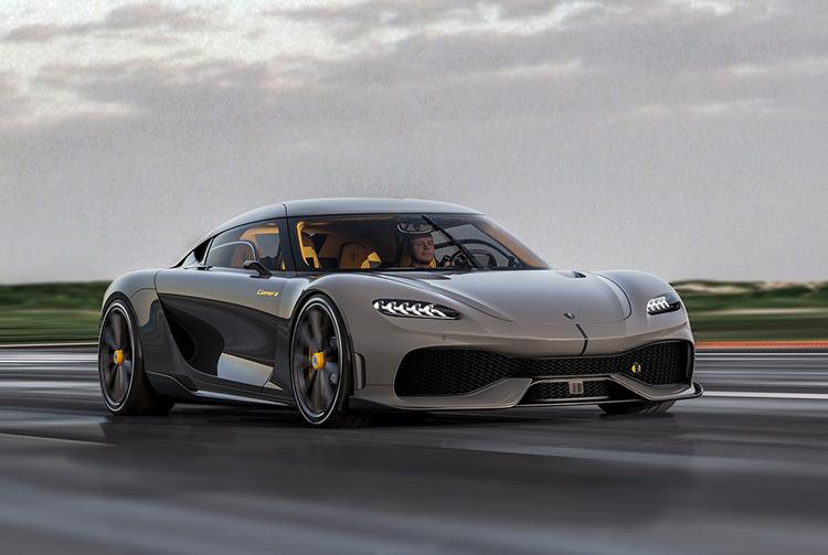 Gemera - mẫu xe bốn chỗ nhanh nhất thế giới. Ảnh: Koenigsegg