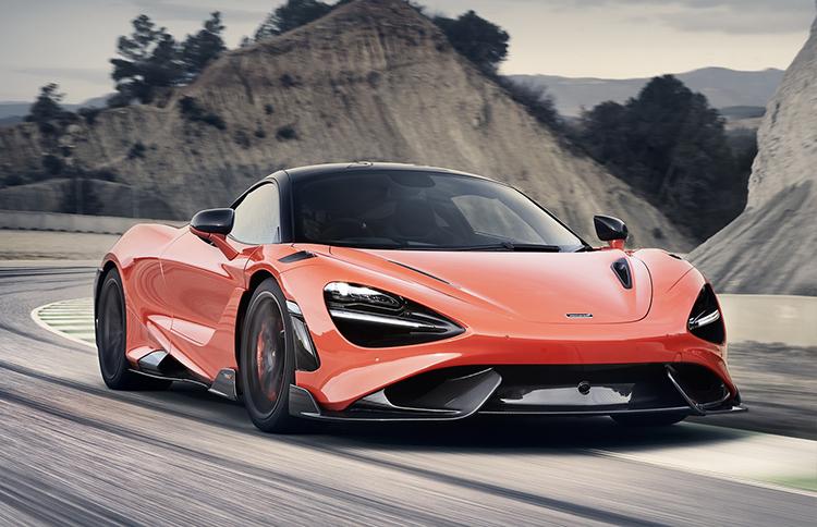 765LT mới. Ảnh: McLaren