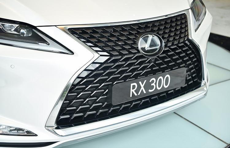 Lưới tản nhiệt thiết kế mới trên Lexus RX 300.