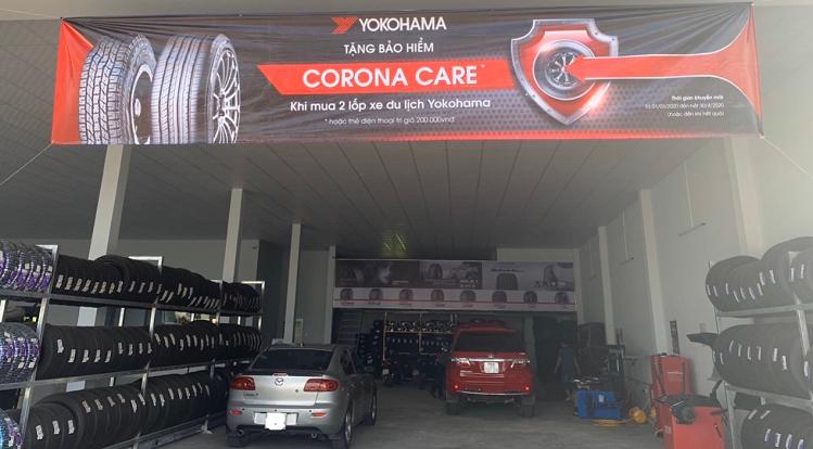 Yokohama tang bao hiem Corona Care cho khach hang