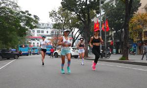 Chạy bộ giúp phụ nữ hạnh phúc