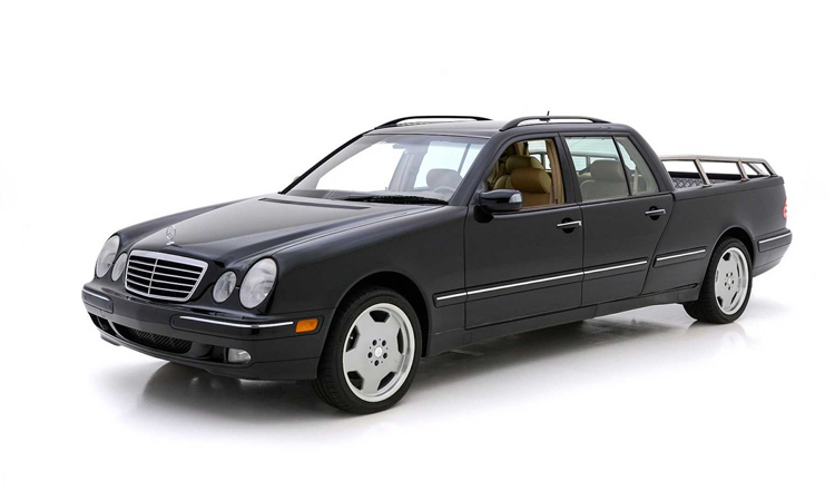 Mercedes E-class phiên bản bán tải vốn là một chiếc E320. Ảnh: Hyman