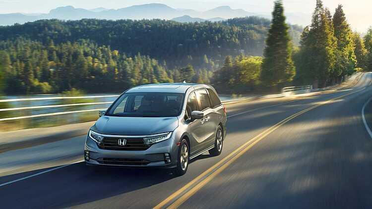 Honda giới thiệu Odyssey phiên bản mới. Ảnh: Honda.