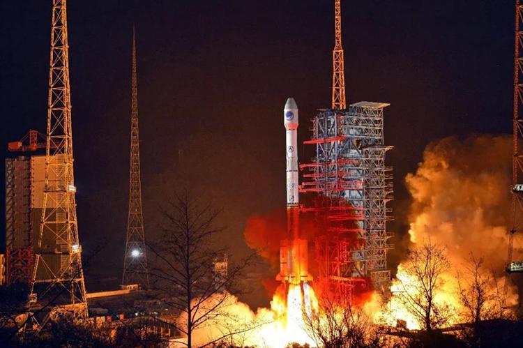 Tên lửa Trường Chinh 3B đưa vệ tinh Beidou-3 lên quỹ đạo vào tuần trước. Ảnh: Spaceflight Now.