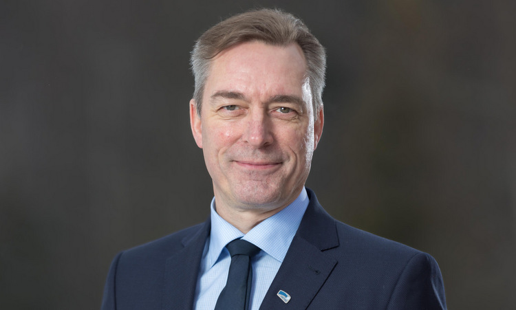 Bộ trưởng Bakke-Jensen hồi năm 2019. Ảnh: Bộ Quốc phòng Na Uy.