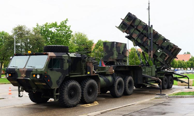 Bệ phóng tên lửa Patriot được trưng bày tại Mỹ năm 2019. Ảnh: US Army.
