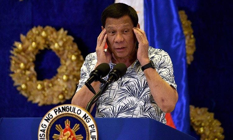 Tong thong Philippines xet nghiem nCoV