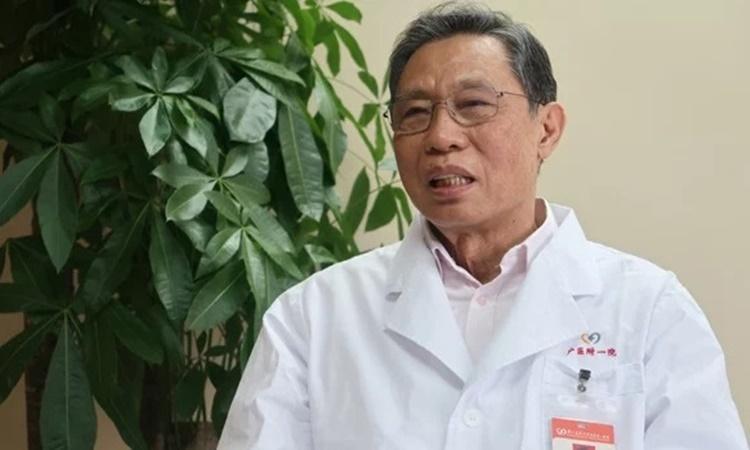Chuyên gia dịch tễ Trung Quốc Zhong Nanshan. Ảnh: Reuters.