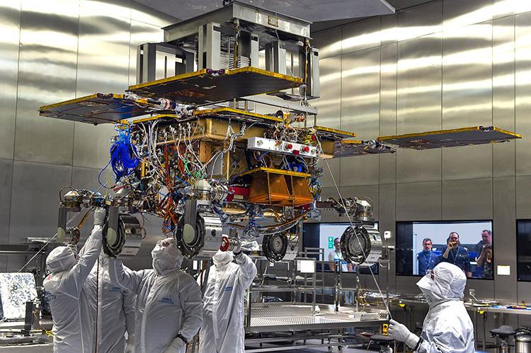 Robot  được phát triển bởi các chuyên gia từ ESA. Ảnh: Spaceflight Now.