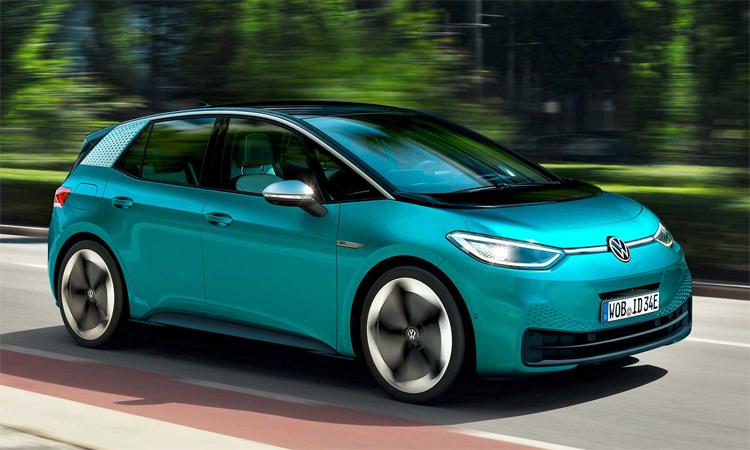 30.000 chiếc ID.3 dự kiến được giao cùng lúc cho khách hàng châu Âu. Ảnh: Volkswagen