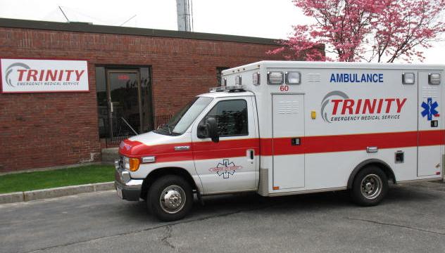 Trinity EMS là công ty cung cấp dịch vụ vận chuyển người bệnh. Ảnh: Firehouse.