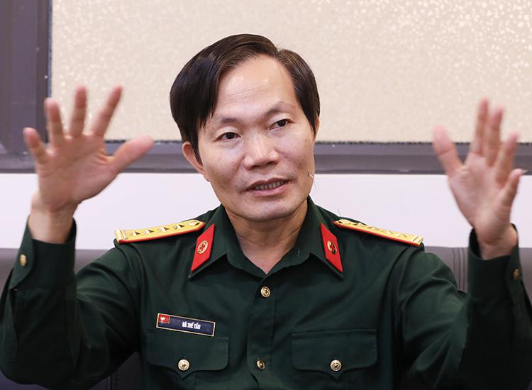 Đại tá Hà Thế Tấn, Viện phó Y học dự phòng quân đội. Ảnh: Ngọc Thành
