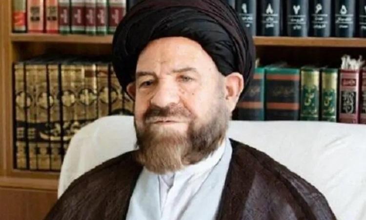 Giáo sĩ Hashem Bathayi Golpayegani, thành viên Hội đồng Thông thái Iran. Ảnh: Al Arabiya.
