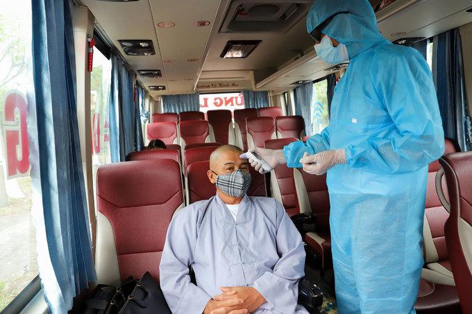 Kiểm soát thân nhiệt du khách đến Đà Nẵng