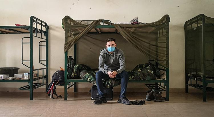 Chàng trai Anh tâm sự về khu cách ly ở Việt Nam