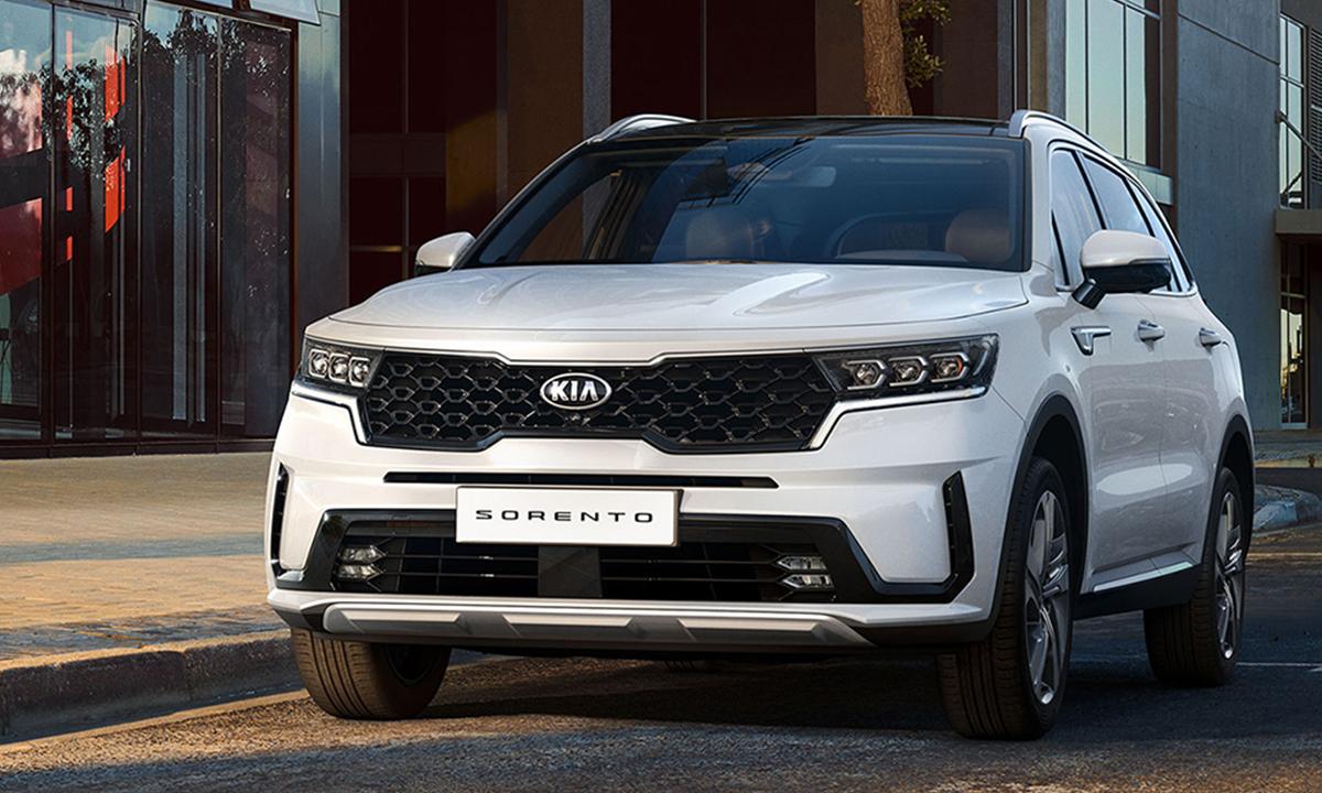 Kia Sorento 2021 giá từ 23.700 - 30.700 USD. Ảnh: Hyundai.
