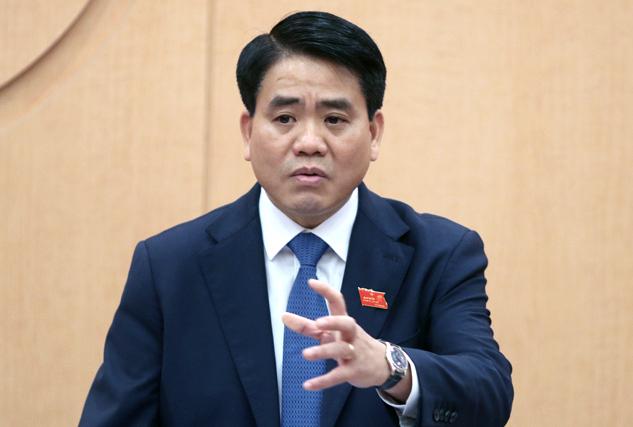 Chủ tịch UBND TP Hà Nội Nguyễn Đức Chung. Ảnh: Võ Hải.