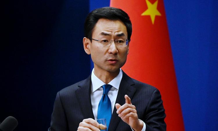 Phát ngôn viên Bộ Ngoại giao Trung Quốc Cảnh Sảng. Ảnh: FMPRC.