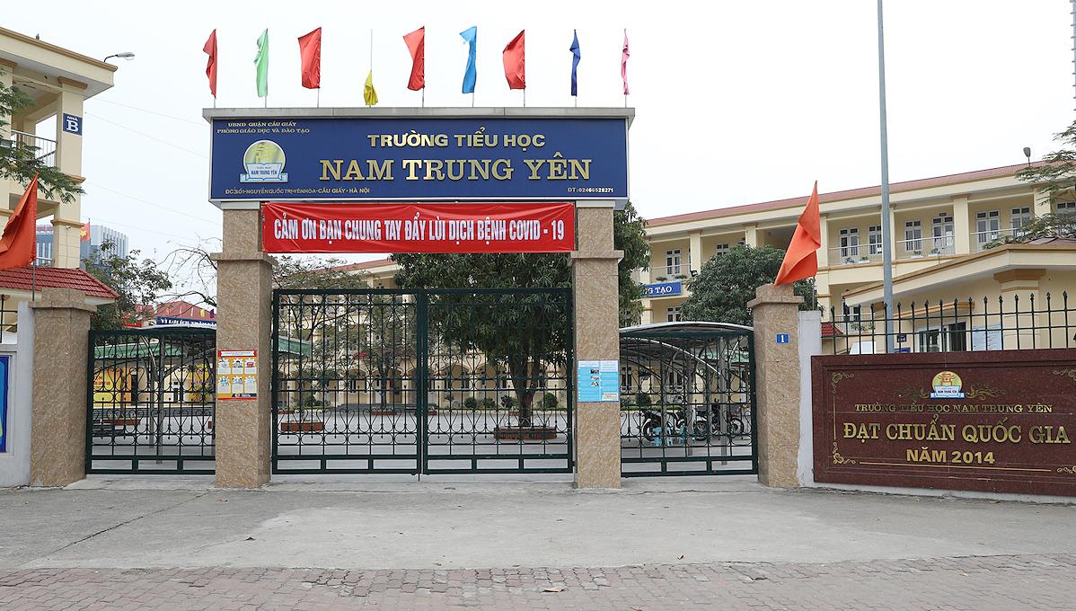 Học sinh các cấp của TP Hà Nội nghỉ học đến 5/4. Ảnh: Ngọc Thành.