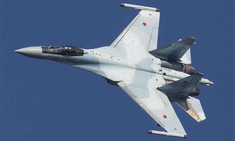 Tiêm kích Su-35S trong biên chế không quân Nga. Ảnh: Russian Planes.