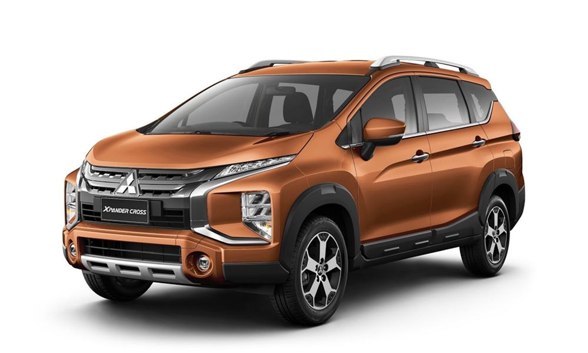 Xpander phiên bản Cross giới thiệu tại Thái Lan. Ảnh: Mitsubishi.