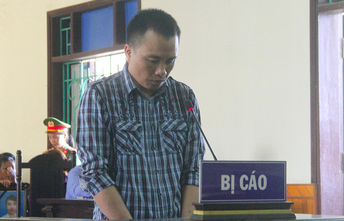 Bị cáo Quân tại phiên xử phúc thẩm hồi tháng 5/2019. Ảnh: Đức Hùng