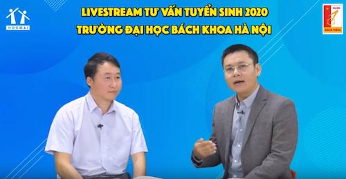 Phó giáo sư, Tiến sĩ Trần Trung Kiên, Trưởng phòng Tuyển sinh Đại học Bách khoa Hà Nội.