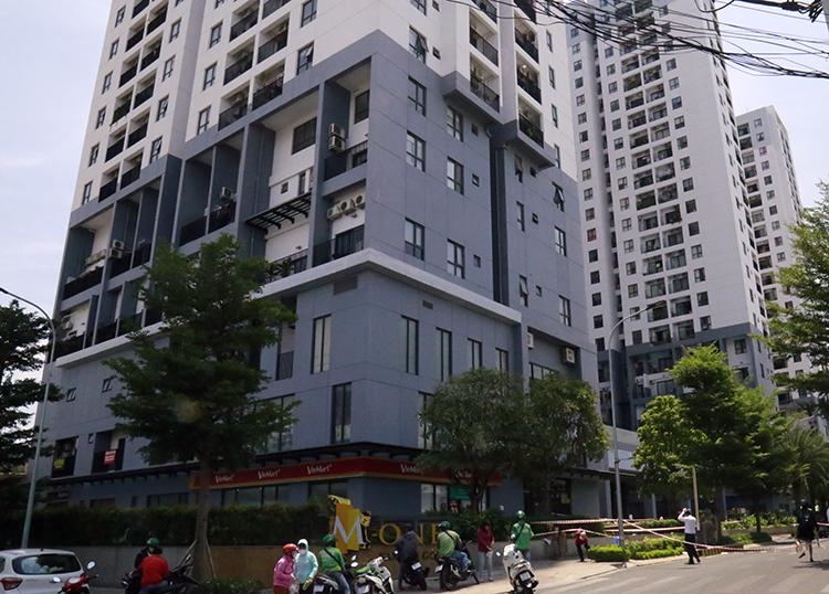 Chung cư M.One Nam Sài Gòn. Ảnh: Hữu Công