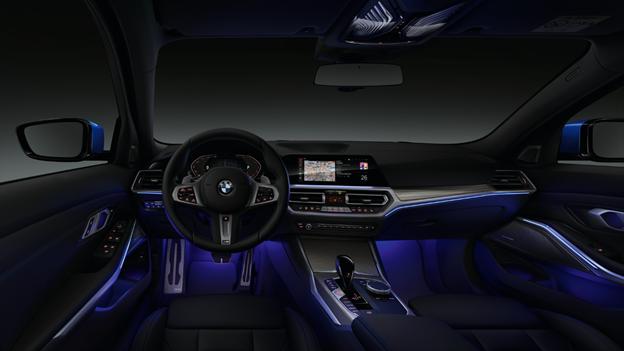 Nội thất BMW Series 3 thế hệ mới.