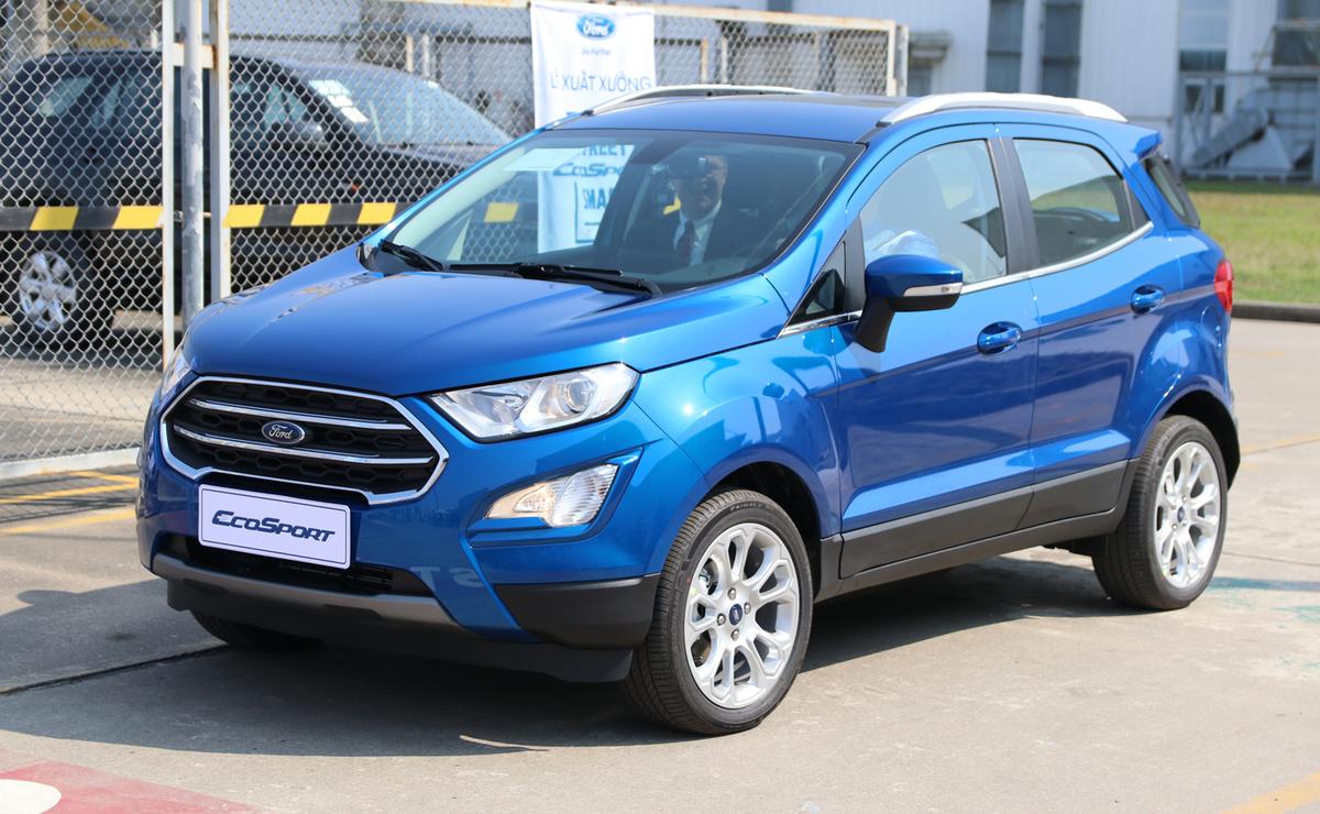 Một mẫu Ford EcoSport tại nhà máy lắp ráp của hãng ở Hải Dương. Ảnh: Đức Huy