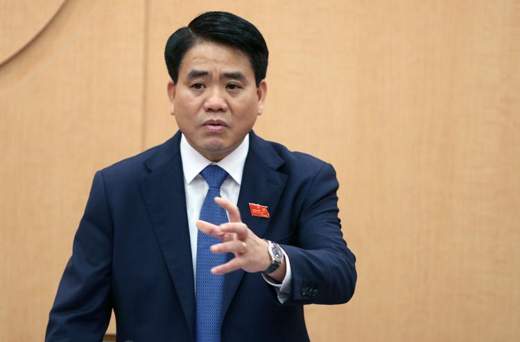 Chủ tịch UBND TP Hà Nội Nguyễn Đức Chung. Ảnh: Võ Hải