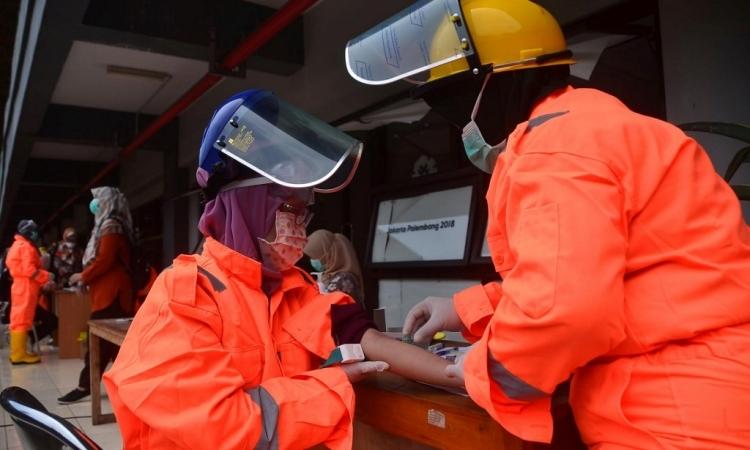 Ca nhiễm nCoV ở Indonesia tăng lên gần 900 - ảnh 1